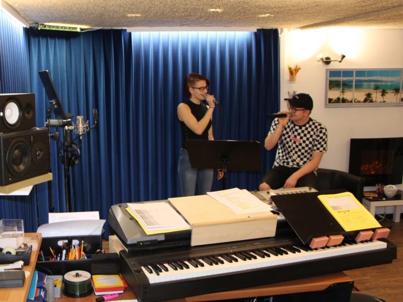 Gesangsunterricht bei Frank Tender